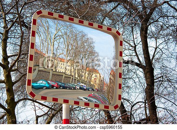 Mirror of circulation to prevent danger - csp5960155