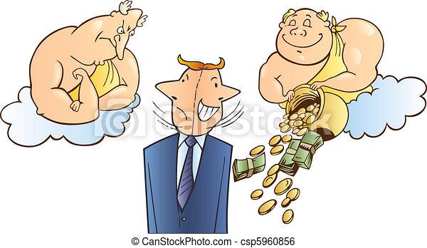Business success metaphor - csp5960856
