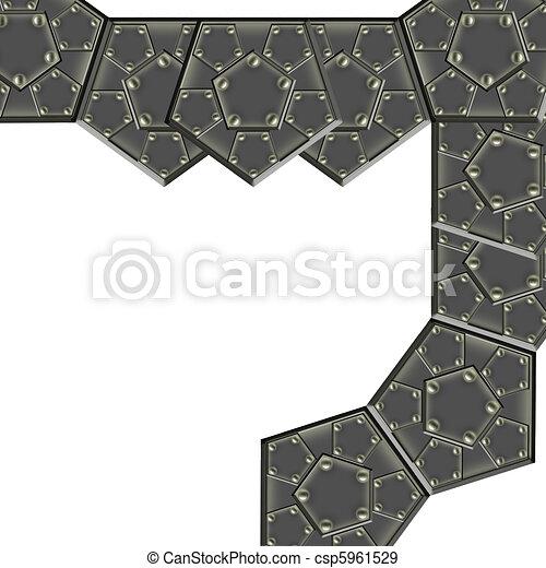 metallic armor plates - csp5961529