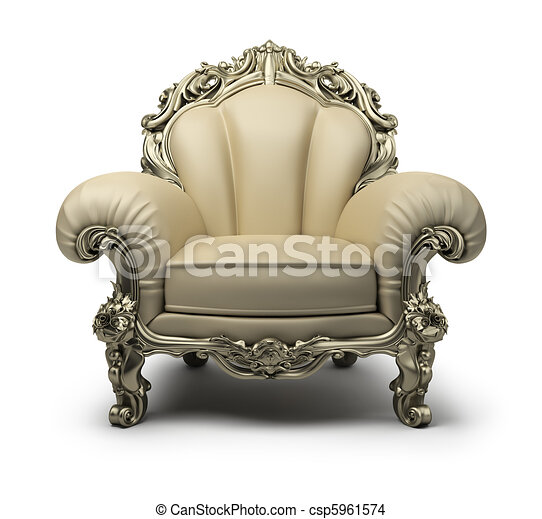 luxurious armchair - csp5961574