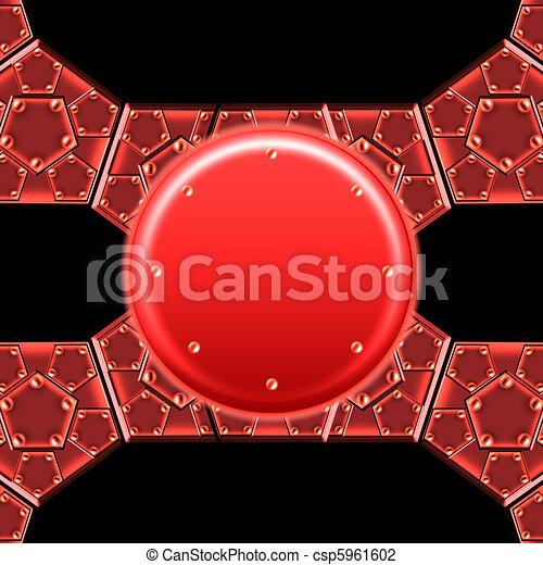 metallic armor plates - csp5961602