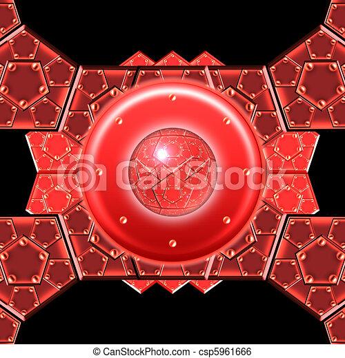 metallic armor plates - csp5961666