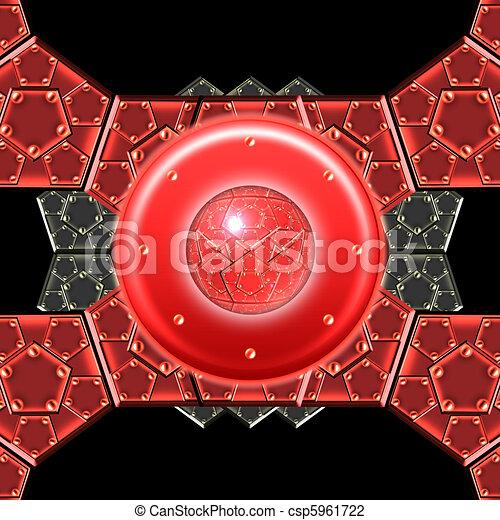 metallic armor plates - csp5961722