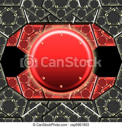 metallic armor plates - csp5961803