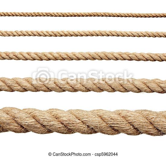Stock de fotos de soga cuerda colecci n de vario for Soga de canamo