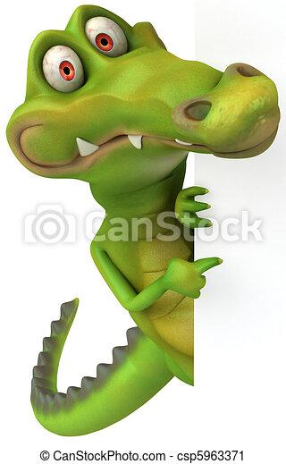 Crocodile - csp5963371