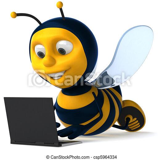 Bee - csp5964334