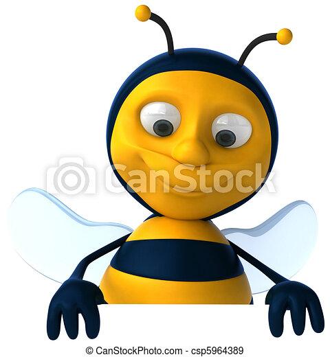 Bee - csp5964389