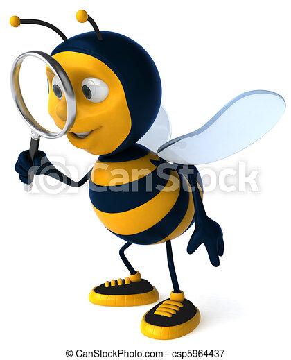Bee - csp5964437