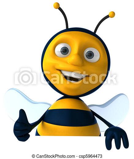 Bee - csp5964473