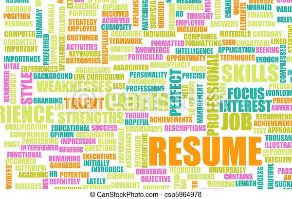 Job Resume - csp5964978