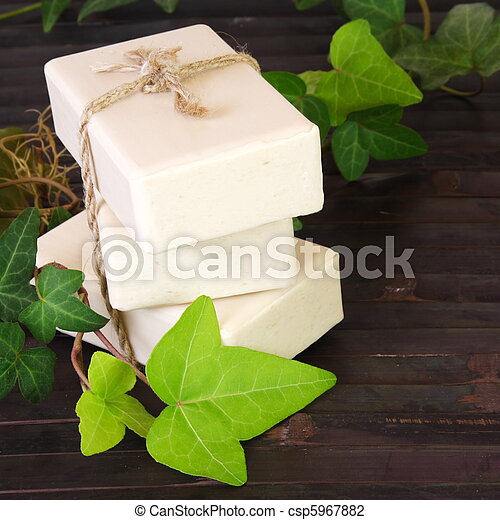 Natural Ingredients Soap - csp5967882