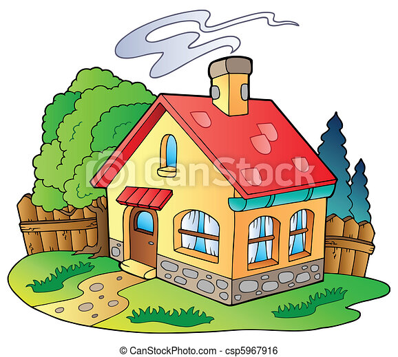 Clip Art Clipart Houses house illustrations and stock art 319304 illustration small family vector illustration