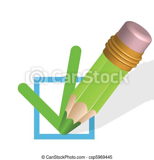 pencil - csp5969445