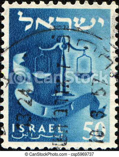 doce, Tribus, israel, dan, -, escalas - csp5969737