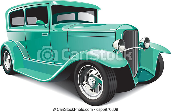 Classical hot rod - csp5970809
