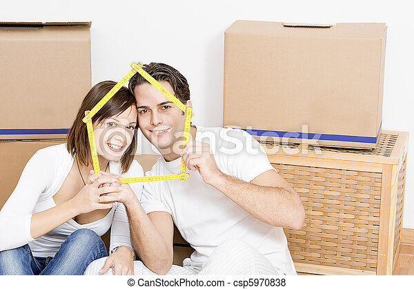 moving home or new first home - csp5970838