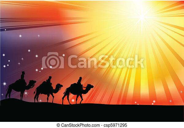 The three wise men - csp5971295