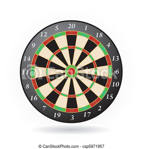darts game - csp5971957