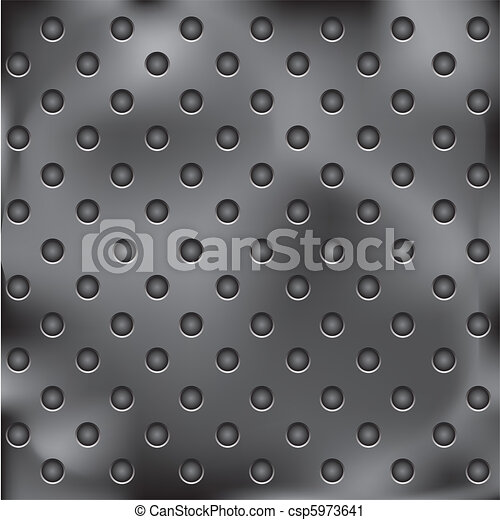 metal plate with holes - csp5973641