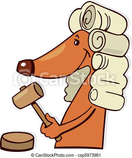 Dog judge - csp5973961