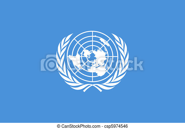 United Nations Flag - csp5974546