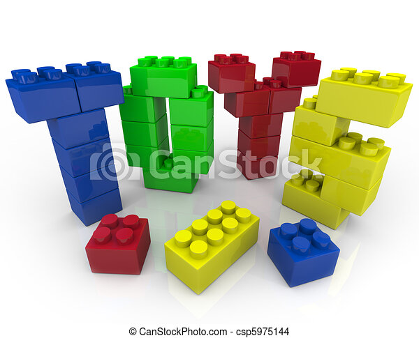 Toys - Building Blocks for Creative Playing - csp5975144