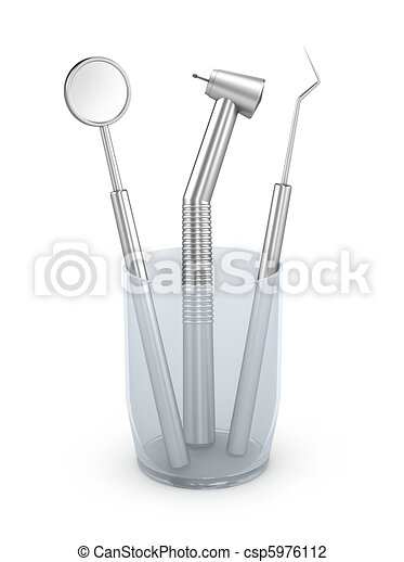 Dental instruments - csp5976112