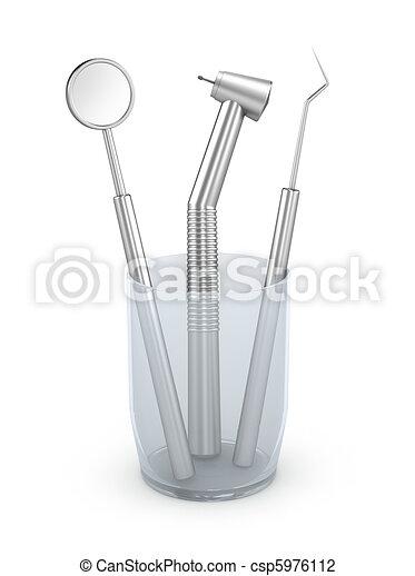 Dental instruments - csp5976112