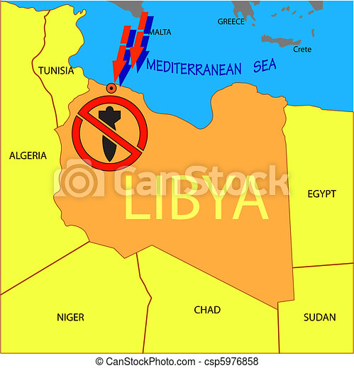 Stop military operations in Libya. - csp5976858