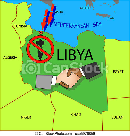 Stop military operations in Libya. - csp5976859