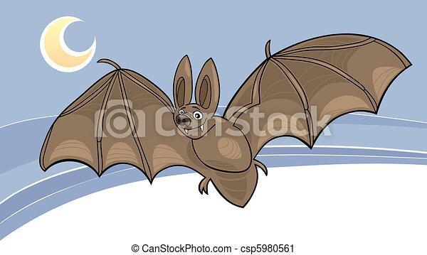vampire bat - csp5980561