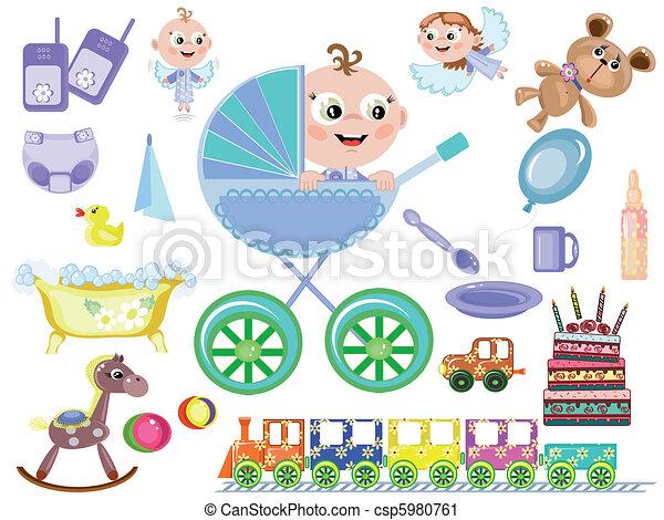 Baby boy,accessory - csp5980761