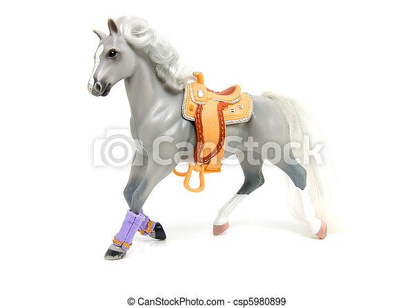 banque de photographies de cheval jouet gris plastique gris plastique jouet. Black Bedroom Furniture Sets. Home Design Ideas