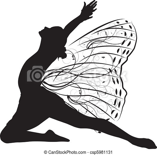 Butterfly dancer - csp5981131