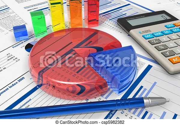 Business analytics concept - csp5982382