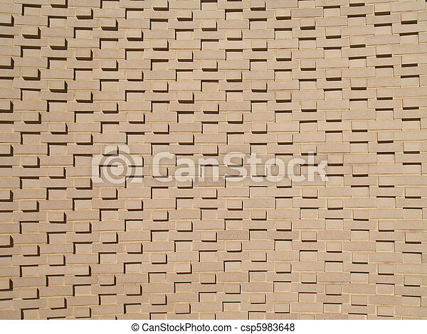 Multi-Layered Brick Wall - csp5983648