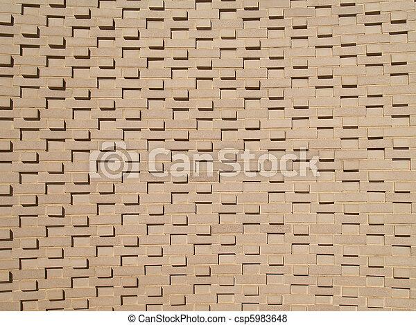Multi-Layered Brick Wall - csp5983648