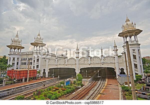 Kuala Lumpur Railway Station - csp5986517