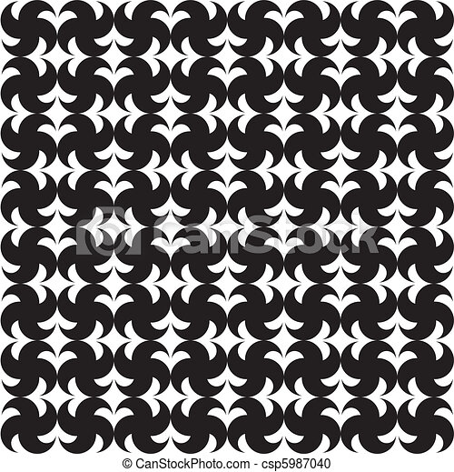 seamless pattern (vector) - csp5987040