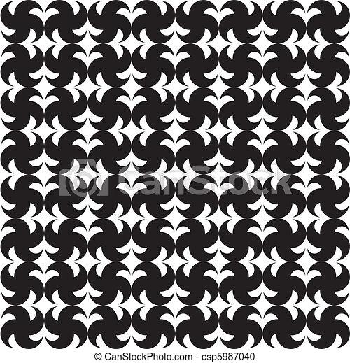 seamless pattern (vector) - csp5987040