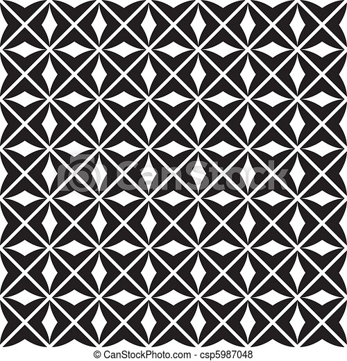 seamless pattern (vector) - csp5987048