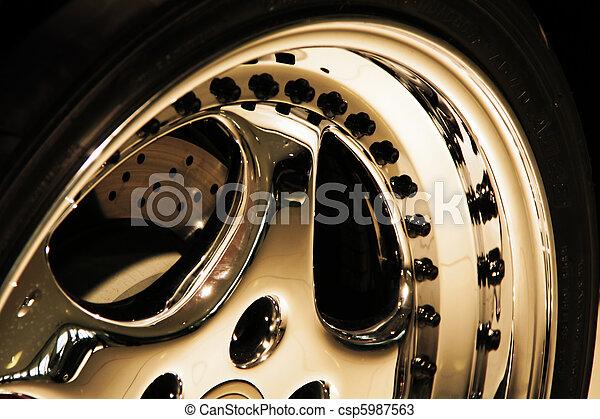 Aluminium wheel - csp5987563