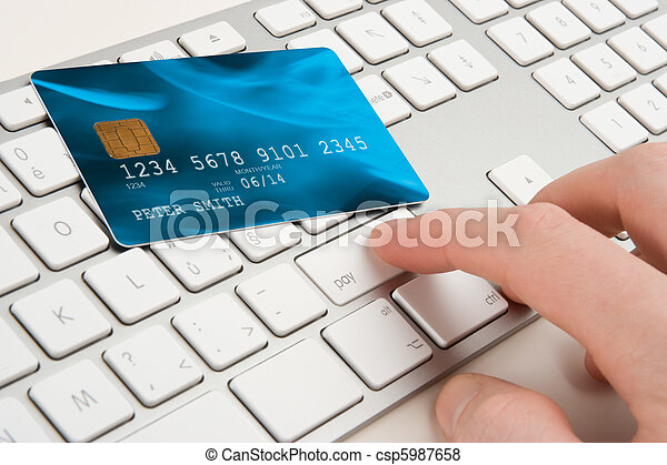 Electronic payment concept - csp5987658
