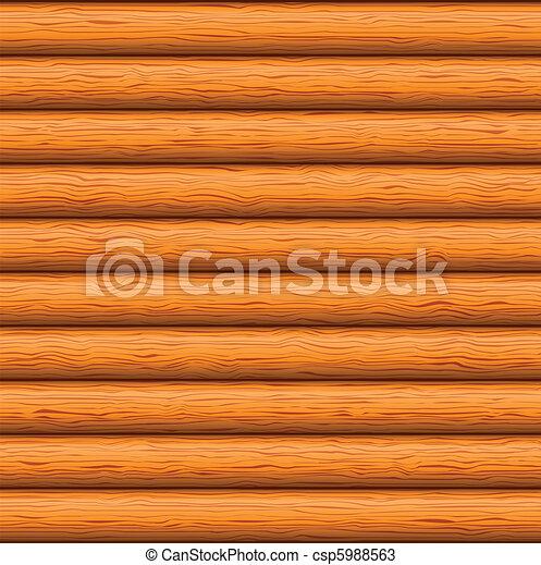 Wooden wall - csp5988563