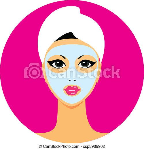 icon-beauty-salon - csp5989902