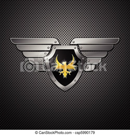 Shield. Vector.  - csp5990179
