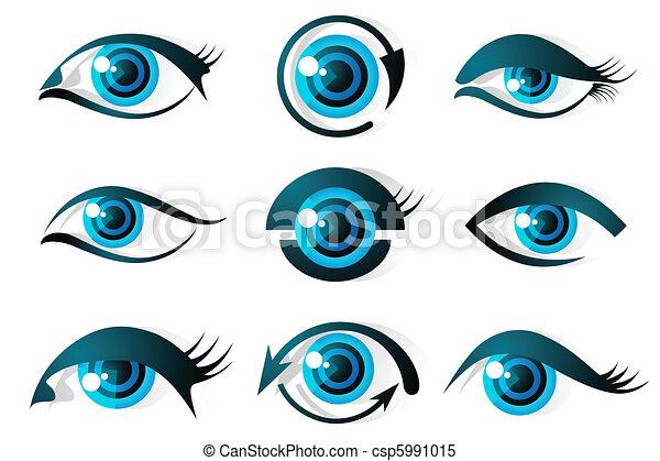 Set of Eye - csp5991015