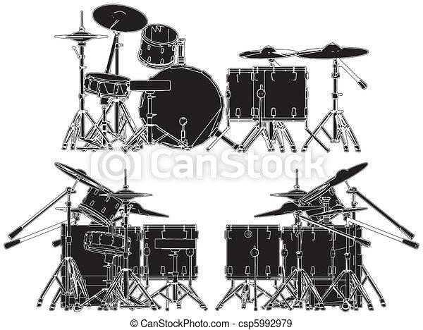 Drums - csp5992979