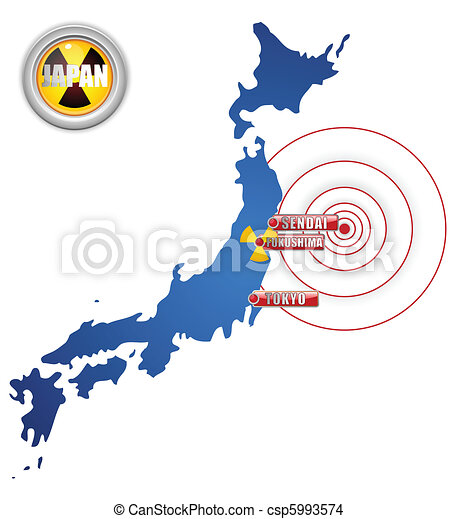 Japan Earthquake, Tsunami and Nuclear Disaster 2011 - csp5993574